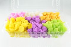 Colorful Sweetness Thai Style Dessert Royalty Free Stock Photos