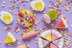 Colorful Sweets Royalty Free Stock Image