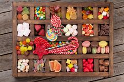 Free Colorful Sweets Box Royalty Free Stock Image - 116559796