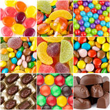 Colorful sweets Stock Image