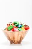 Colorful Sweets Portrait Stock Photos