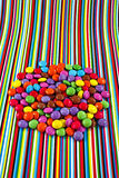 Colorful sweets Stock Images