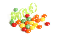 Colorful sweets Stock Photography