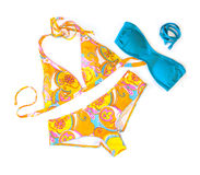 Colorful swimwear Stock Images