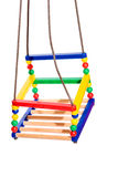 Colorful swing Royalty Free Stock Image