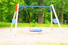 Colorful swing Stock Photography