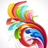 Colorful Swirl Stock Image