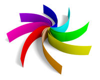 Colorful swirl Stock Photos