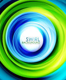 Colorful swirl abstract background Royalty Free Stock Photography