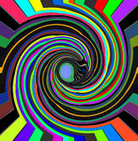 Colorful Swirl for background Royalty Free Stock Image