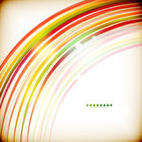 Colorful swirl lines abstract background Stock Image