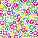 Colorful swirl pattern background Stock Image