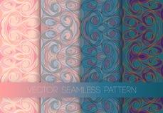 Colorful swirl pattern Stock Photo