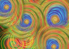 Colorful swirl Texture background royalty free illustration