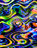 Colorful Swirls Stock Photo