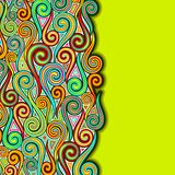 Colorful Swirly Background Royalty Free Stock Image