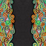 Colorful Swirly Background Stock Photo