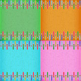 Colorful sword card board texture Royalty Free Stock Images
