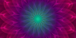 Colorful symmetrical abstract background. Intricate details Stock Photos