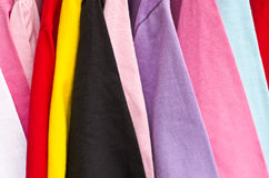 Colorful t-shirt Royalty Free Stock Image