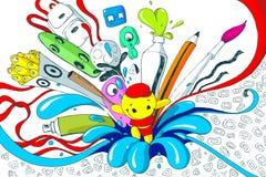 Colorful T-shirt Print Stock Photos