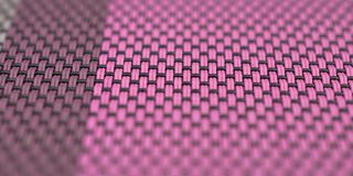 The colorful table-cloth with regular pattern Stock Image