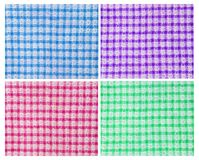 Colorful table cloth Royalty Free Stock Images