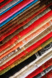 Colorful Table Cloths Stock Image