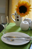 Colorful Table Setting Royalty Free Stock Images