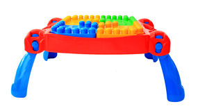 Colorful table toy for little kids isolated Stock Photos