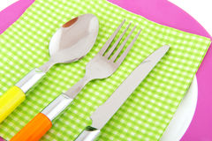 Colorful tableware Royalty Free Stock Photo