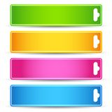 Colorful Tag Royalty Free Stock Photography