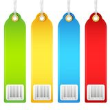Colorful Tag Stock Photography