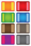 Colorful tag labels Royalty Free Stock Image