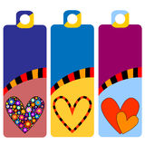 Colorful tags or labels Royalty Free Stock Photo