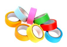 Colorful tape Royalty Free Stock Photos