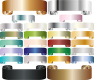 Colorful tapes Royalty Free Stock Image