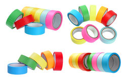 Colorful tapes Stock Photo