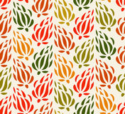 Colorful tapestry floral background. Endless decorative pattern. Seamless pattern can be used for wallpaper, pattern fills, web pa Royalty Free Stock Image