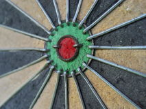 Colorful target darts Royalty Free Stock Image