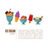 Colorful tasty ice cream. Stock Photo
