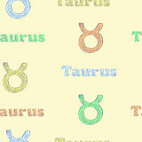 Colorful Taurus Royalty Free Stock Photo