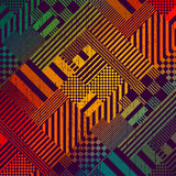 Colorful Tech Pattern Stock Photos