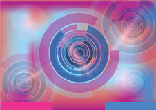 Colorful technical background Stock Image