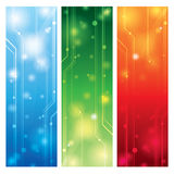 Colorful technical background vector Royalty Free Stock Image