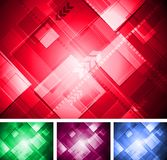 Colorful technical design Royalty Free Stock Image
