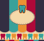 Colorful teeth Royalty Free Stock Photo