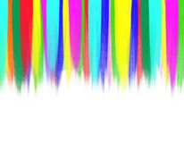 Colorful tempera stripes Royalty Free Stock Photos