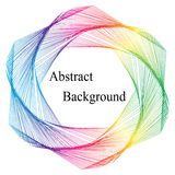 Colorful Template for Visiting Cards, Labels, Fliers, Banners, Badges, Posters, Stickers Stock Photos