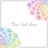 Colorful Templates for Text, Placard, Cover. Royalty Free Stock Photos